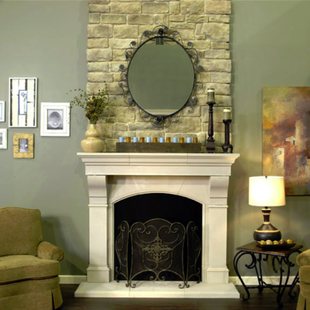 Featured Walls Ideas For The Wall Behind Your Fireplace Mantel Old World Stoneworks