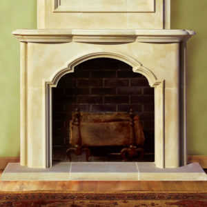 Avondale | Cast Stone Fireplace
