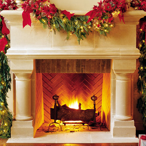 Birmingham | Cast Stone Fireplace