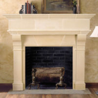 Brunswick | Cast Stone Fireplace