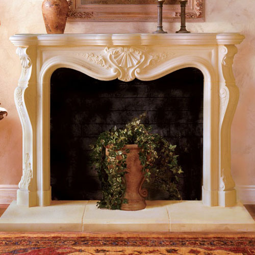European Fireplace Mantel Design Calais