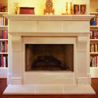 Cambridge | Cast Stone Fireplace