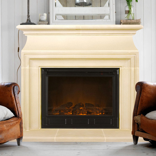 Chelsea | Cast Stone Fireplace