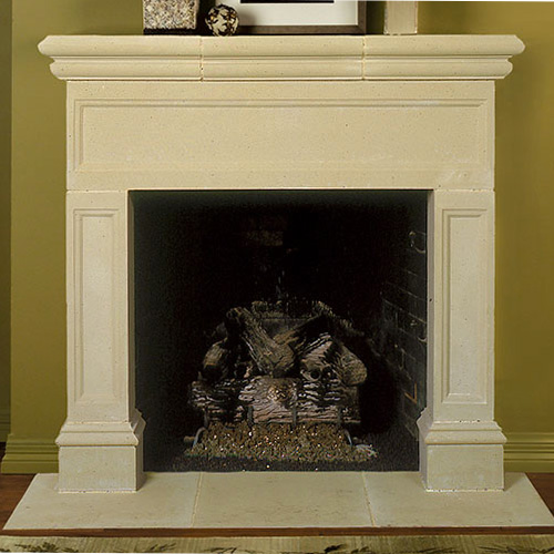 Devon | Cast Stone Fireplace