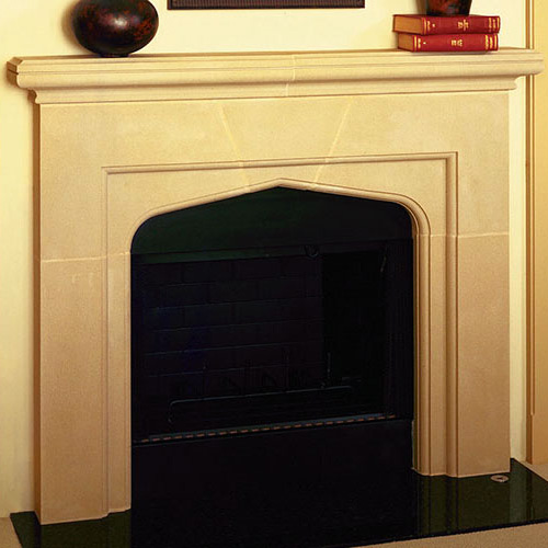 Fairmount | Cast Stone Fireplace