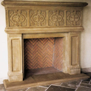 Manchester | Cast Stone Fireplace