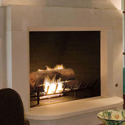 Manhattan | Cast Stone Fireplace
