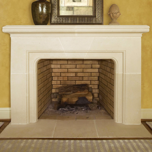 Montgomery | Cast Stone Fireplace