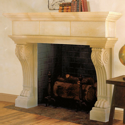 Nottingham | Cast Stone Fireplace
