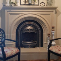 Roman | Cast Stone Fireplace