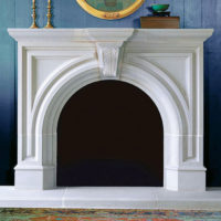 Rothton | Cast Stone Fireplace