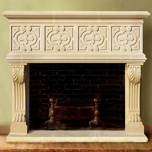European Fireplace Mantel Design Stoneleigh