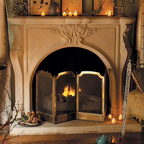 Taunton | Cast Stone Fireplace