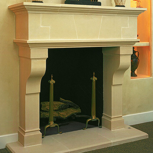 Tuscan | Cast Stone Fireplace