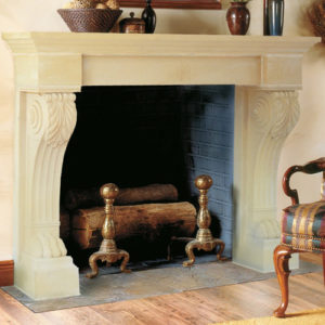 Wellington | Cast Stone Fireplace