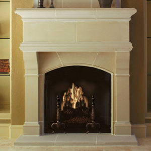 Wilshire | Cast Stone Fireplace