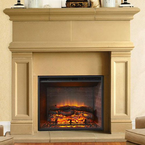 Windsor | Cast Stone Fireplace