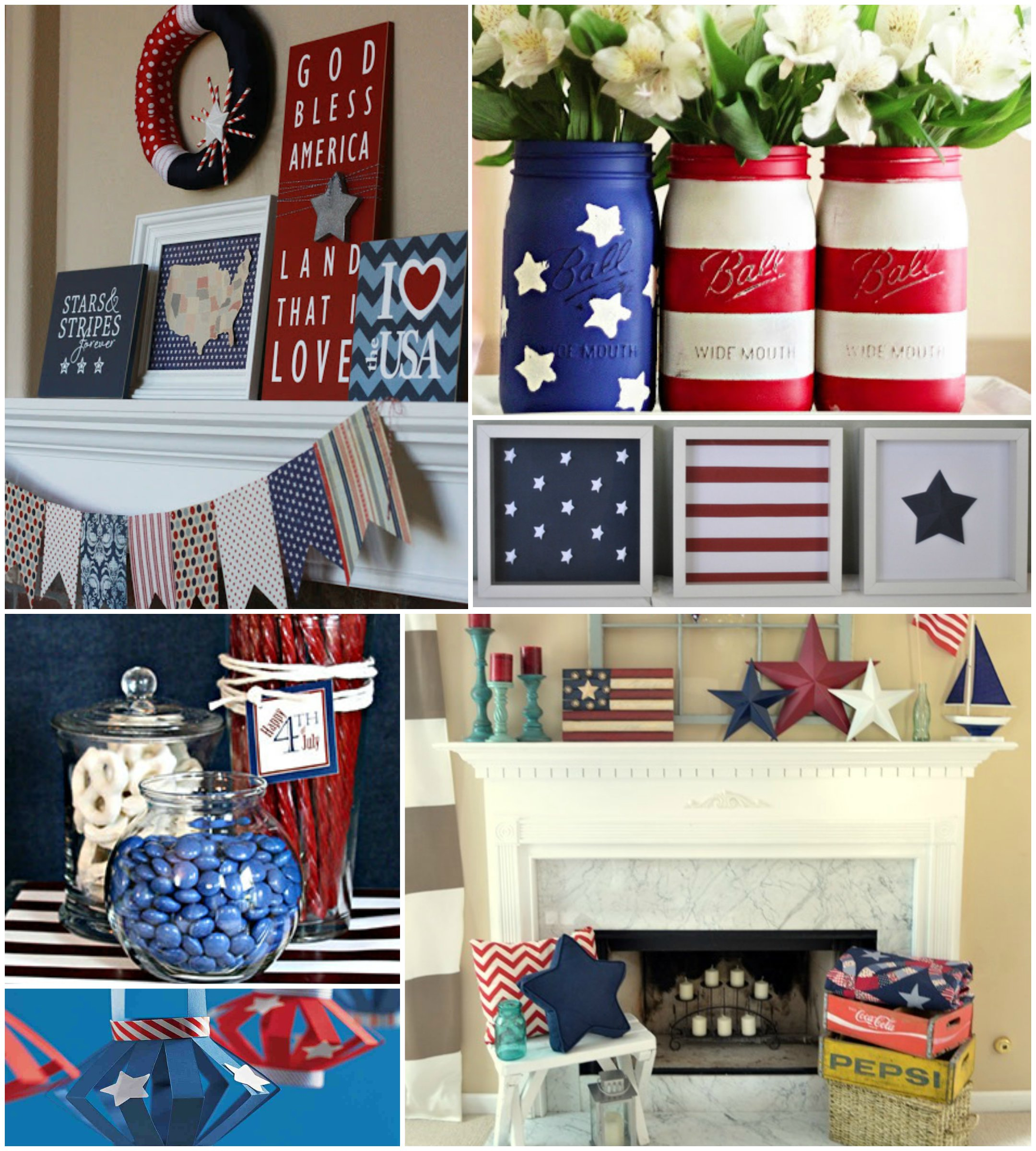 Memorial day d cor with americana designs old world for Best home decor gifts